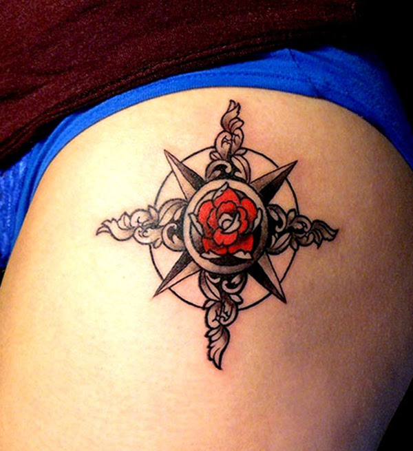 35 Amazing Compass Tattoo Designs Tattoos Era