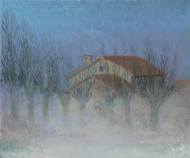 La nebbia sale