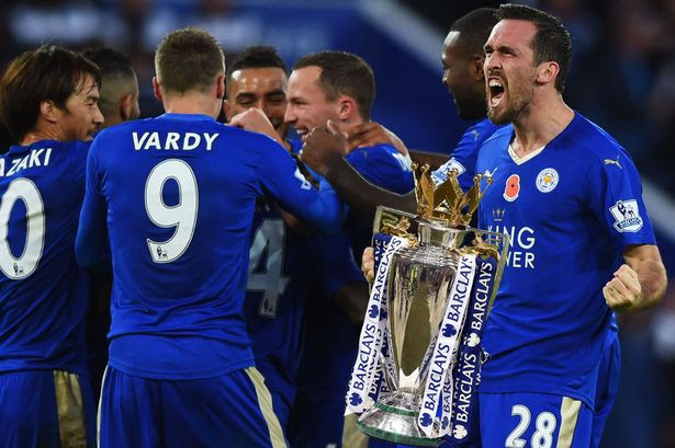 Leicester City are 3 points away from being crowned Premier league champions
