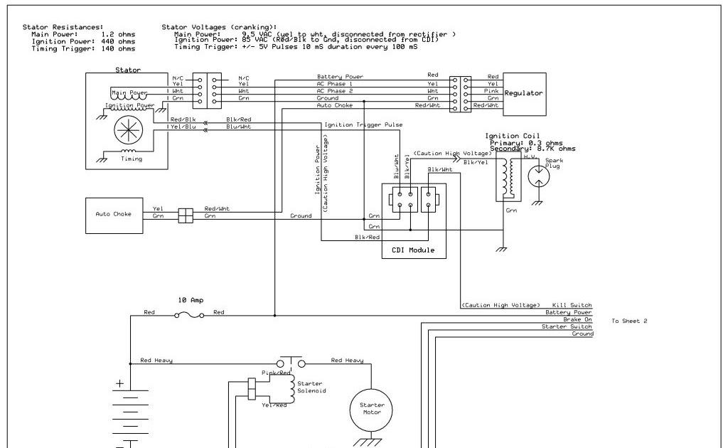 Taotao 125 Atv Wiring Diagram, Quad Wiring Diagram