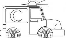 Ambulans Siren Boyama Sayfası