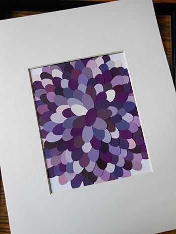 Paint swatch-this is going to be my new thing. I'm going to do christmas cards using paint swatches.