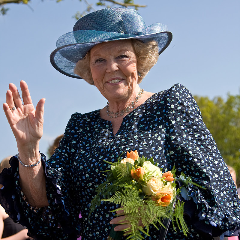 Emiel Ketelaar: Her Majesty Queen Beatrix of the Netherlands in Vries