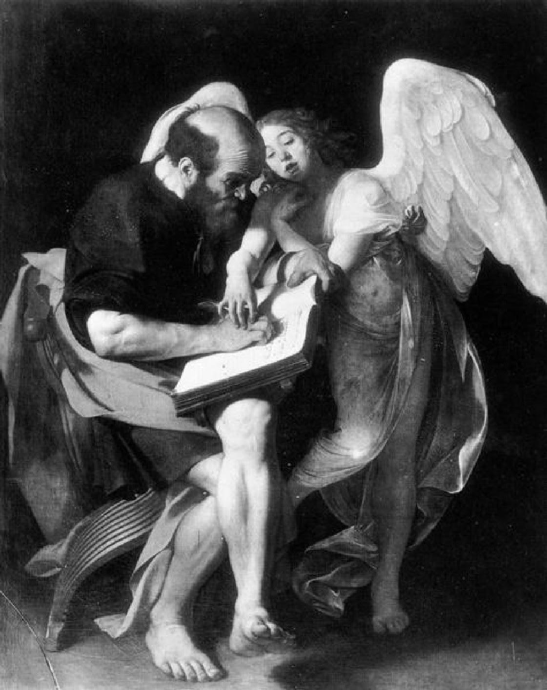 Caravaggio - S. Mateus e o Anjo