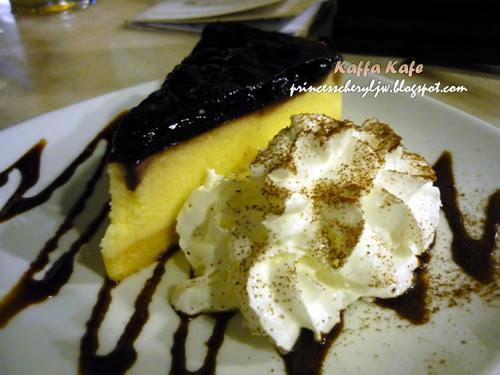 Kaffa Kafe cheese cake