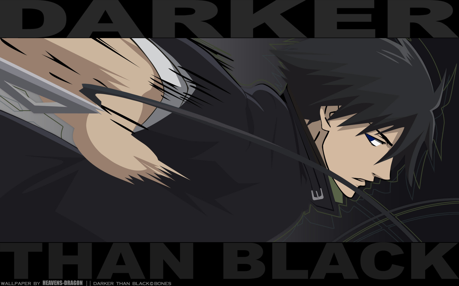 Darker Than Black Wallpaper Dtb Go Dark Minitokyo