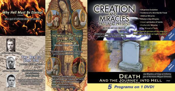 Portada del DVD 5 en 1 que incluye el video sobre Guadalupe