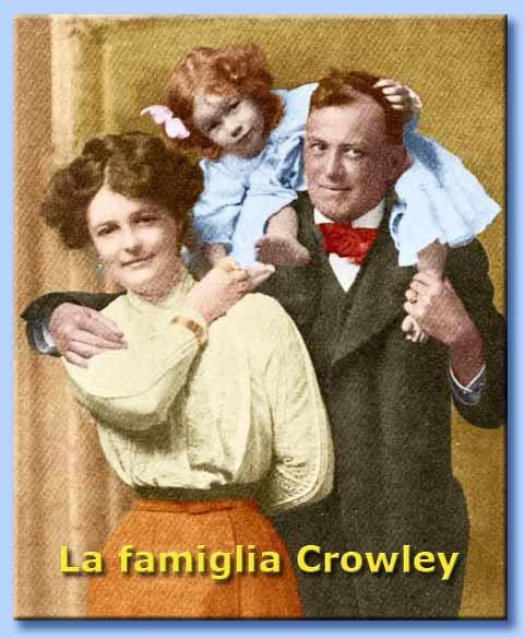 la famiglia di aleister crowley