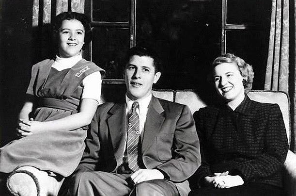Pictured: Ann, Stanley and Madelyn Dunham