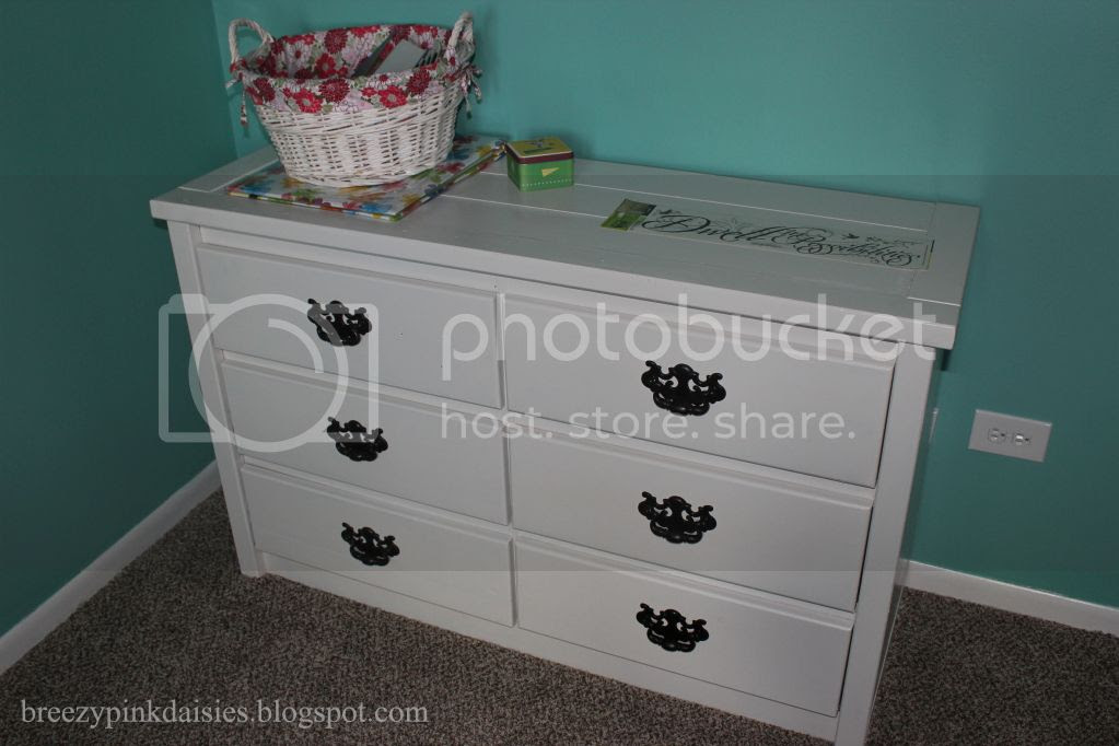 Dresser Makeover from the curb