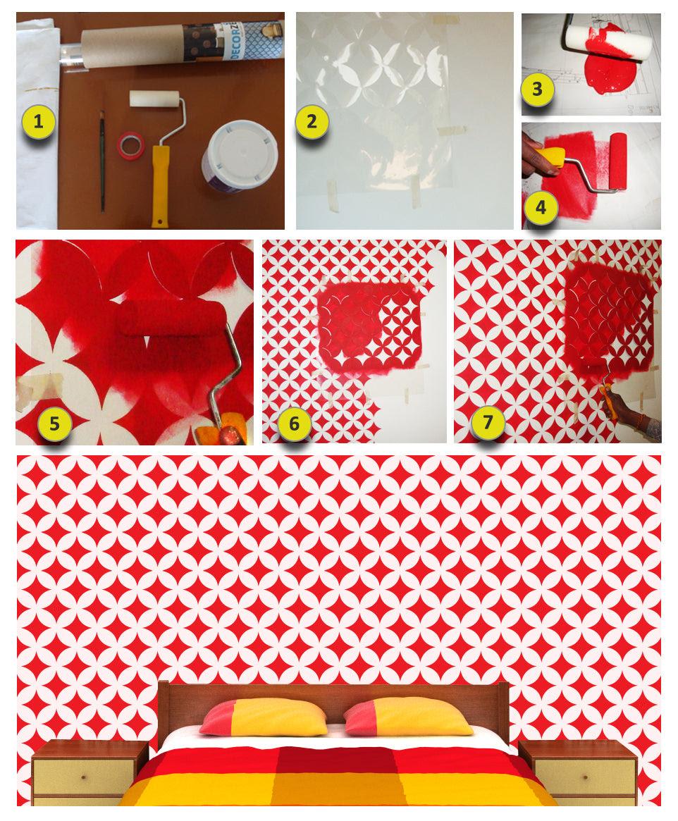 Wall Design Stencils Online
