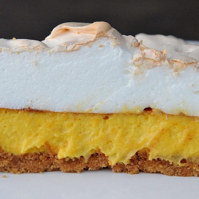 tarte de limão merengada
