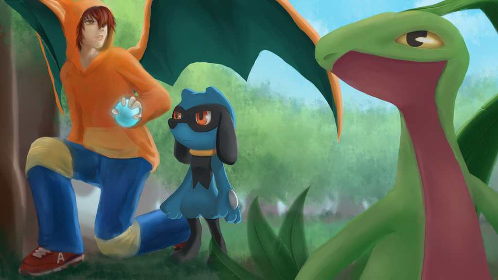 Axelrod39;s Pokemon Adventure by Chapx on DeviantArt