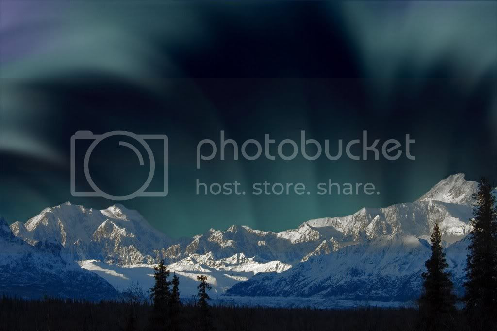 Aurora_Borealis_Over_Mount_McKinley.jpg photography image by phon_91