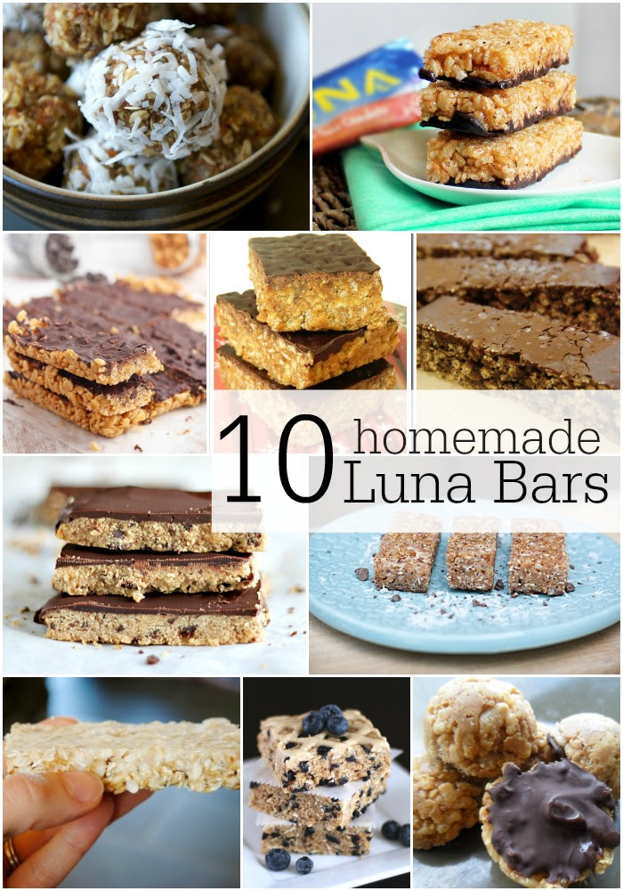 10 Copycat Luna Bar Recipes Yum Onekriegerchick