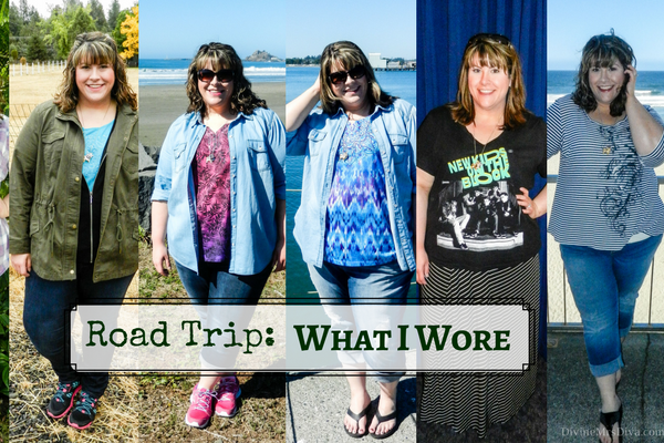 What I Wore on Vacation: Redwoods Road Trip