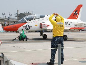 T-45C на EMALS. Фото с сайта alert5.com