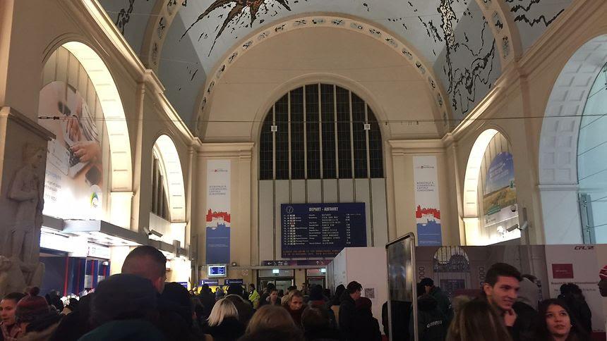 Δεν τρένα για μία ώρα σε κεντρικό σταθμό του Λουξεμβούργου