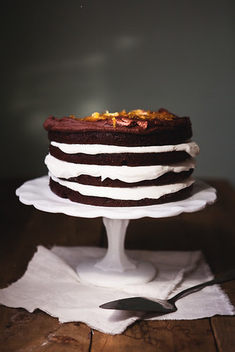 chocolate orange layer cake copy