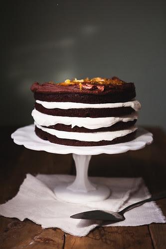 chocolate orange layer cake copy