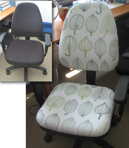 Desk Chair Reupholstery