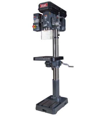 Variable Speed Floor Drill Press Sb 250v Dake Corp