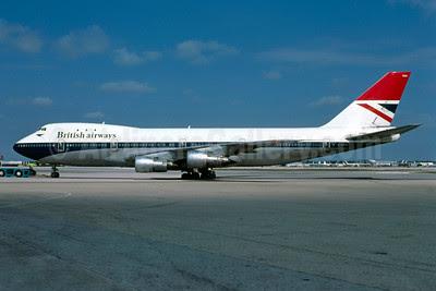 British Airways Boeing 747-136 G-AWNH (msn 20270) MIA (Bruce Drum). Image: 102780.