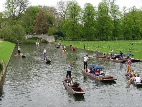 Punting at River Cam