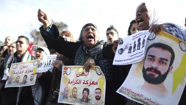 Samer Isawi, preso palestino, lleva 200 días en huelga de hambre