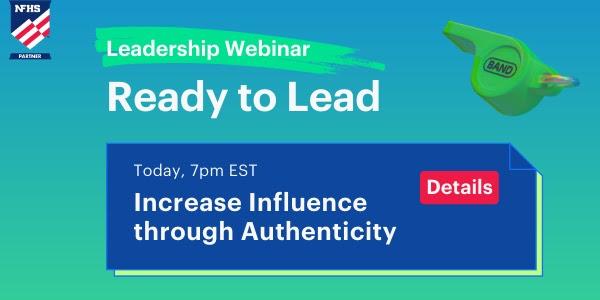 "BAND ""Ready to Lead"" Leadership Webinar"
