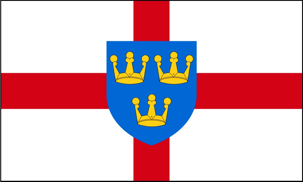 East Anglia Flag | British County Flags