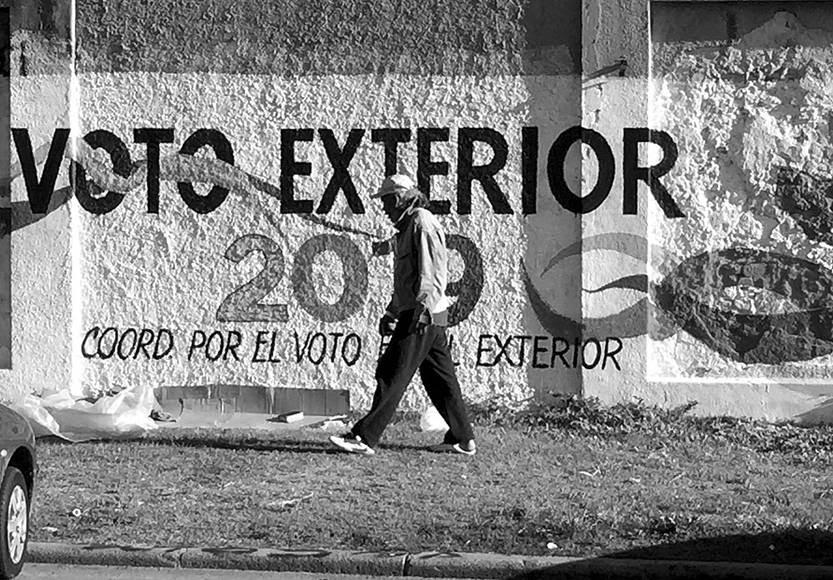 Muro de la Compañía del Gas. Foto: Iván Franco