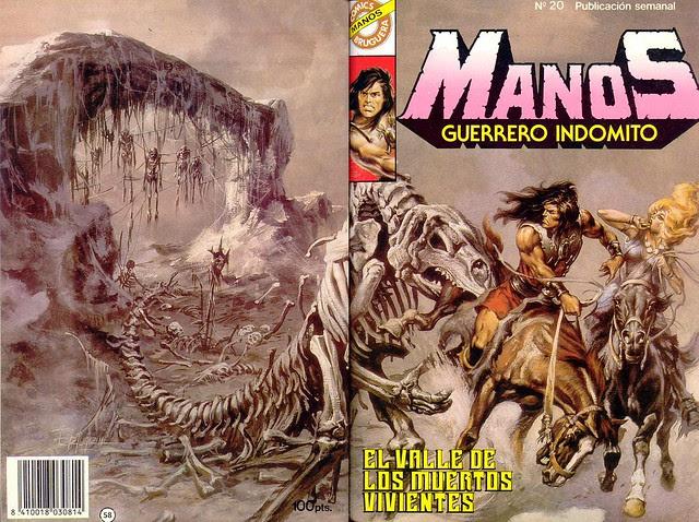 Manos Guerrero Indomito, Cover #20