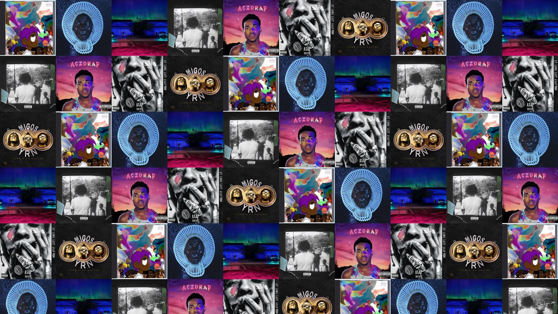Lil Uzi Vert Childish Gambino Big Wallpaper Tiled Desktop Wallpaper