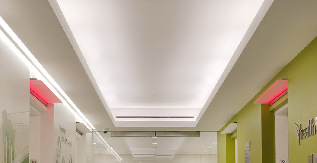 Architectural Linear Led Lighting Systems Commercial Led Cove