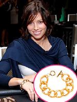 Jessica Biel wearing CC Skye