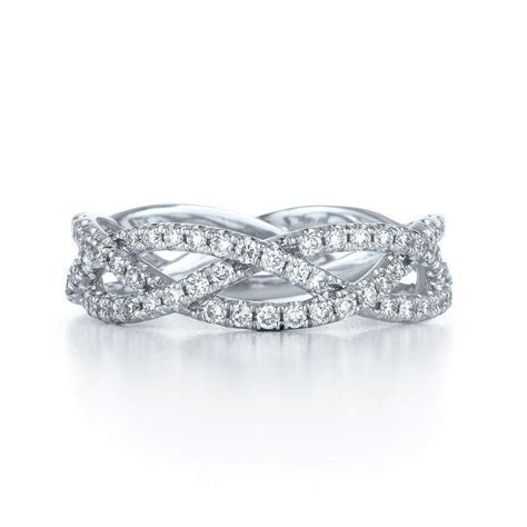 Braided Wedding Bands for Women   cord of three strands is