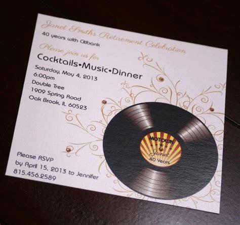 Motown Birthday Invitations   Too Chic & Little Shab