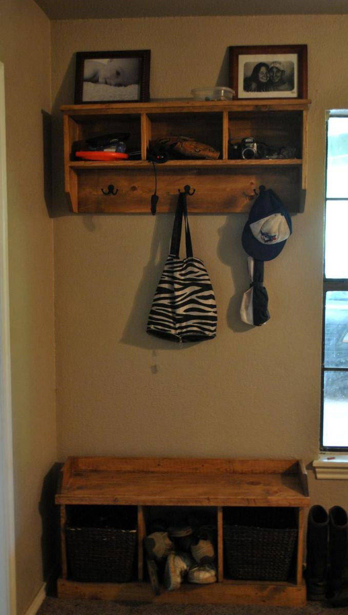 Entry way bench and storage | Do It Yourself Home Projects from ...