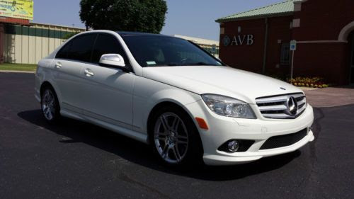 Sell used 2008 Mercedes-Benz C350 AMG Sport Sedan 4-Door 3.5L Panorama Navi Fully Loaded in ...