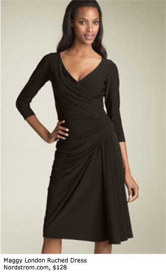 Maggy London Ruched Dress - Sleeves - Nordstrom