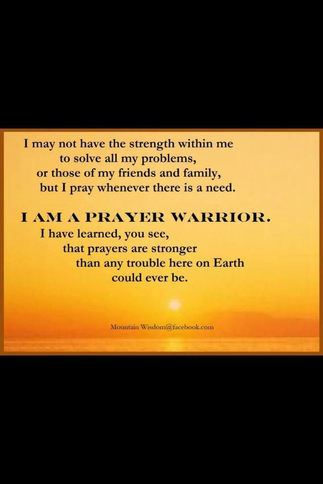 Warrior I Am Quotes
