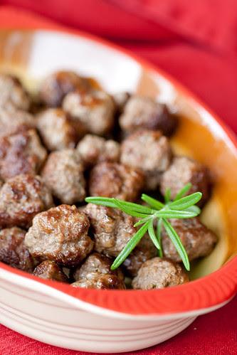 Christmas meatballs / Vürtsikad lihapallid