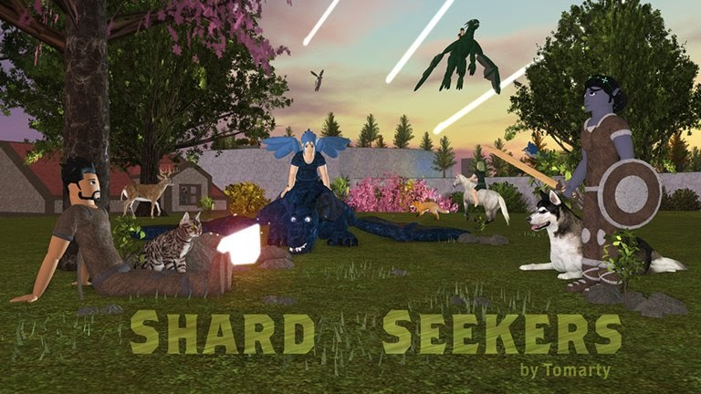Roblox Shard Seekers How To Get Shardsthe Bird Pet And The Elf Sky