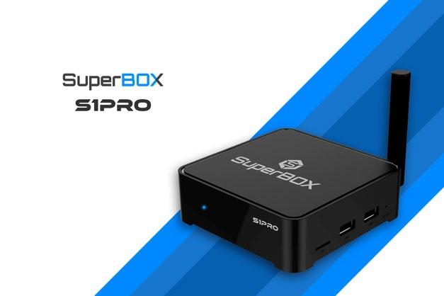 Sorteio de uma TV Box SuperBox S1 Pro