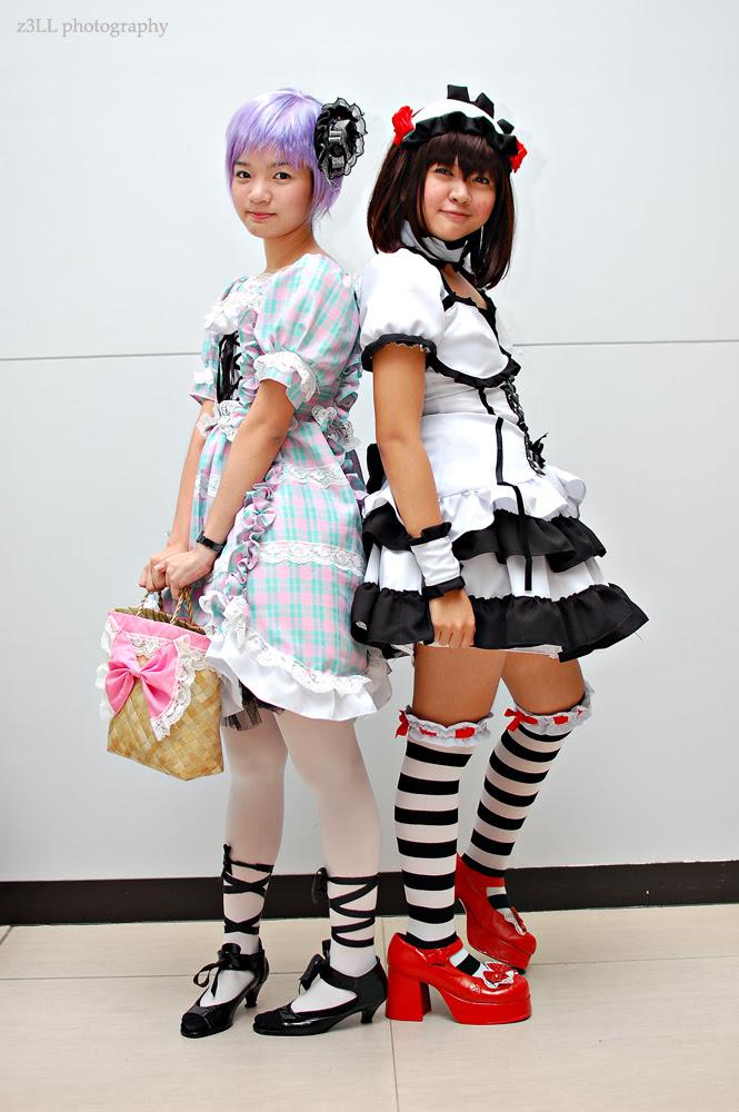 Nagato and Haruhi Cosplay