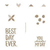 Best Day Ever Photopolymer Stamp Set