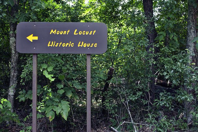 mount locust historic house, natchez trace parkway