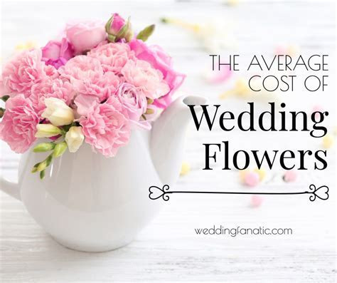 What is the average cost of flowers for a wedding