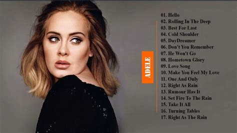 Adele Greatest Hits 2017   Adele Best Songs All Time Cover